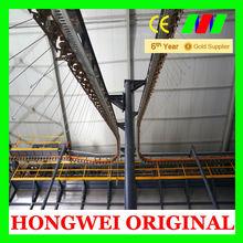 perfil de aluminio vertical electrostática de pintura en polvo equipos