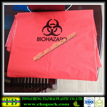 PE plastic medical waste bag for clinical waste