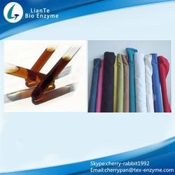 Make The Fabric Soft Textile Uses Biological Enzyme Acid Cellulase Enzyme