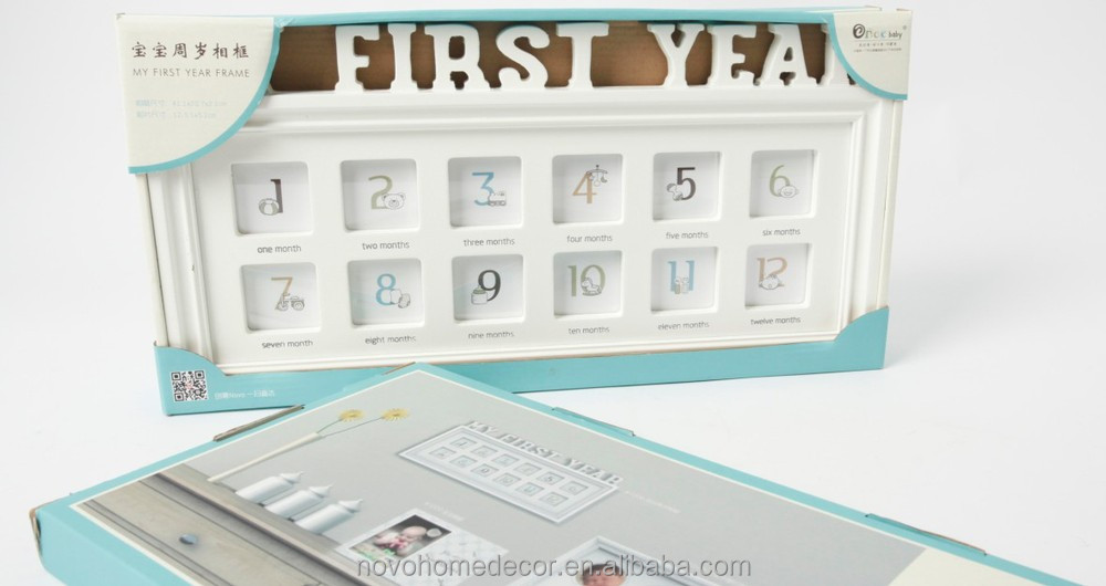 Contemporary First Year Frame Picture Collection - Framed Art Ideas ...