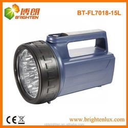 Heavy duty 4XD battery operated 15LED plastic portable led lantern, emergency torch light, heavy duty light