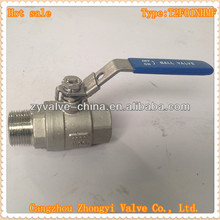 1000wog M/F male female screwed stainless steel full port investment casted valve manufacturers association