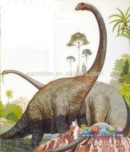 dinosaurio de aventura del parque de equipos