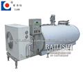Elaboración de productos lácteos de la máquina vertical del tanque de enfriamiento de leche