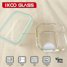 china housewares rectangle pyrex glass food containers heat resistant 1650ml