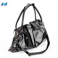 2012 Hot Sale New Korean Style Lady Synthetic Leather Handbag Shoulder Bag Fashion