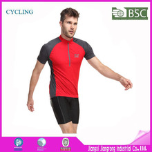Free sample! Accept sample order elasticity breathable quick dry cycling jersey and cycing short / breathable cycling wear