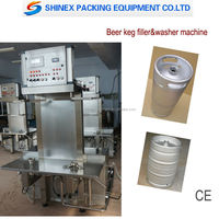 Automatic 50L beer keg filling machine