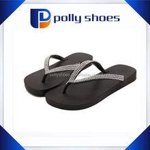 Hot Sale!wholesale rhinestone flip flops