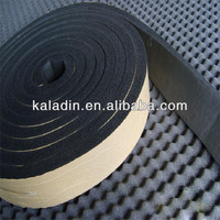 EPDM foam tape with adhesive for auto sound insulation