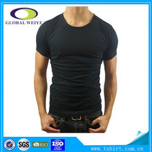 High quality black men plain 2014 tshirt