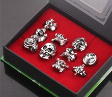 Wholesale One Piece Skull ring fashion ring set