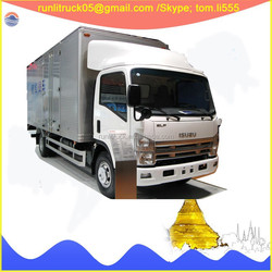 Japanese brand ELF QL10503HAR1Y left hand drive 6 wheel light truck 3500 kg for sale in philipines