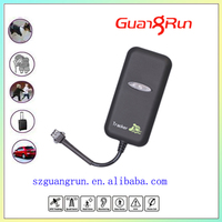 phone sim card gsm gps gprs tracker with platform software