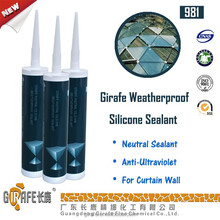 Neutral SIlicone RTV One component Weatherproof mastic Sealant