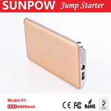 SUNPOW OEM 6000mah bosch power jump starter
