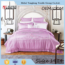 2015 Hot sale luxury bedding set with full size famous brand bedding set wholesale