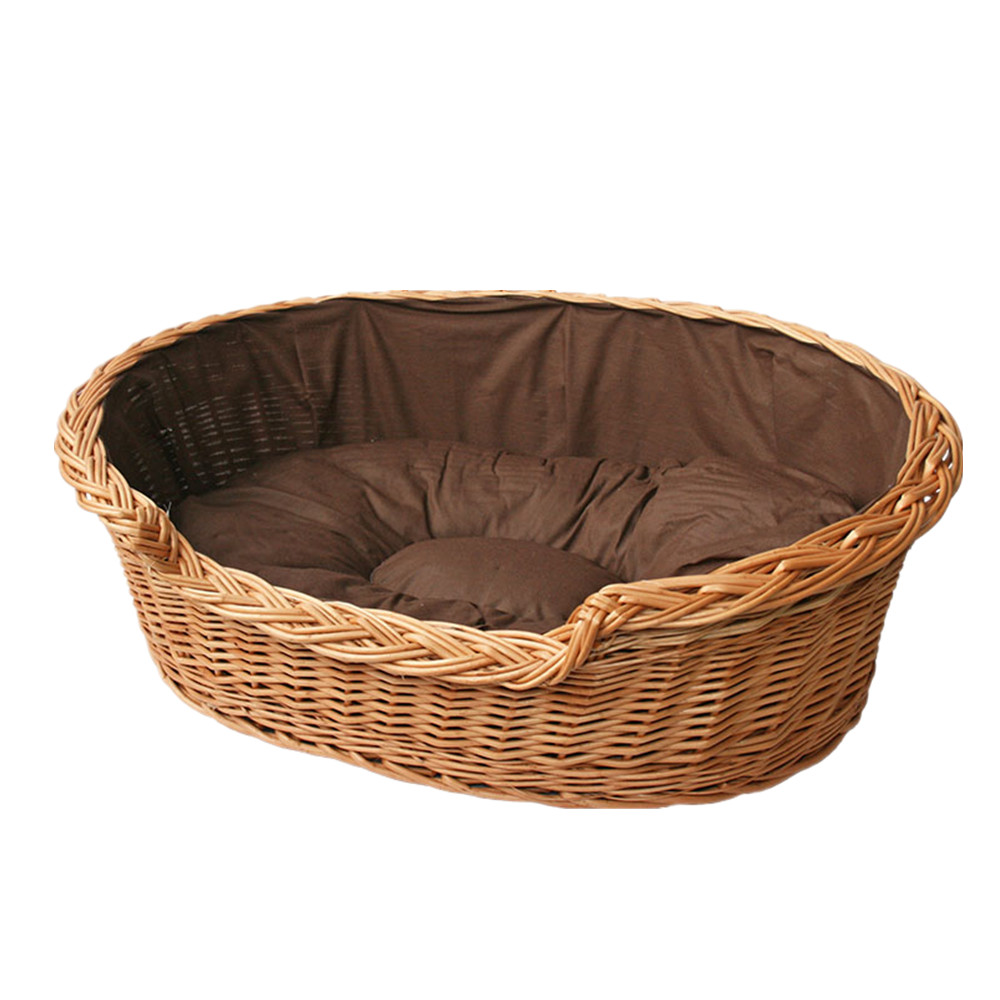 Китай поставщик новых продуктов милый питомец плетеная кровать/корзина для использования собака/кошка/животных отдых