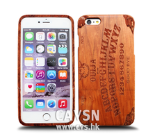 Buy Chinese Products Online Red Wood Custom Mobile Covers Wood for iphone 6s Case