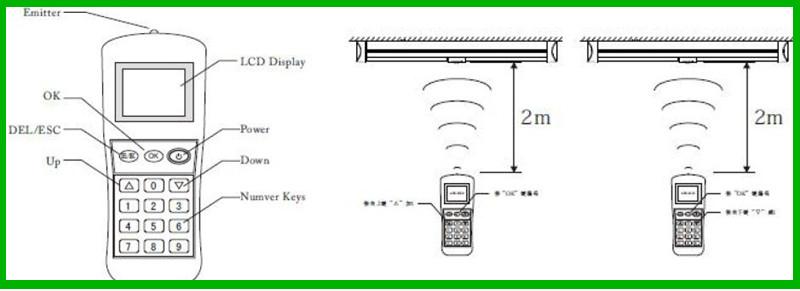 2014 New Design For German market Smart Sensors 36W led flat panel lighting