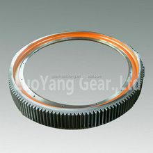Heavy Duty Carbon Steel Girth Gear For Ball Mill Gear / Rotary Kiln Girth Gears