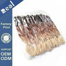 Wholesale Three Tone Kanekalon Jumbo Braid, Synthetic Braiding Hair Ombre Heat Resistant Braids Synthetic Hair Extensions
