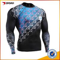 Customized design unisex rash guard, custom printed rash guard, mma rashguard