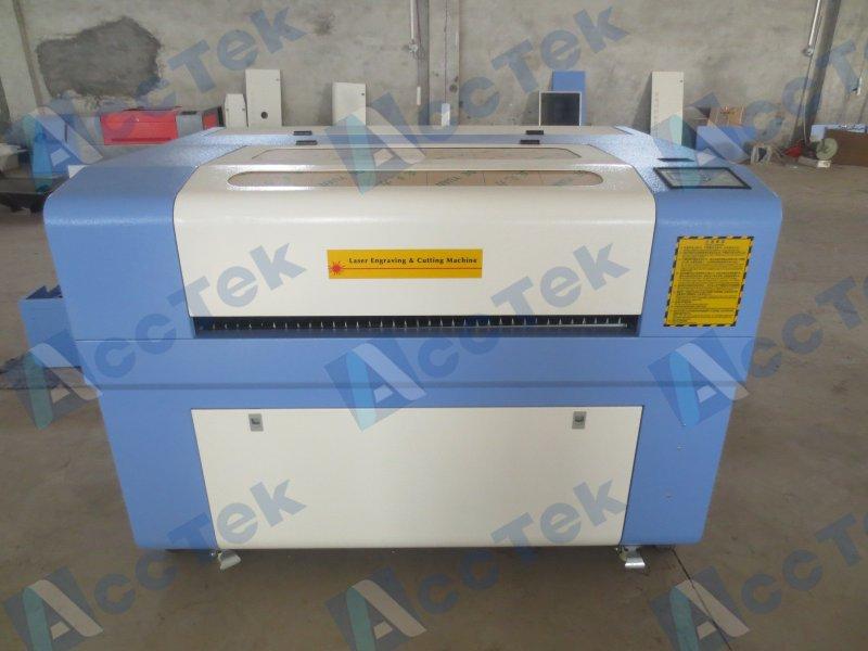 mini cnc granite stone laser engraving machine AKJ6090 for sale