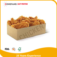 custom fast food packing chicken box
