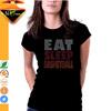 Eat sleep basketball rhinestone logo design for basketball jersey tshirt