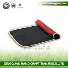 BSCI QQFactory natural material fleece pet bed mat