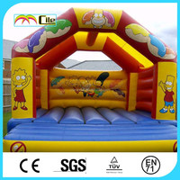 CILE High Quality Cheap Inflatable Bouncy Bed Arena for Paintball Game
