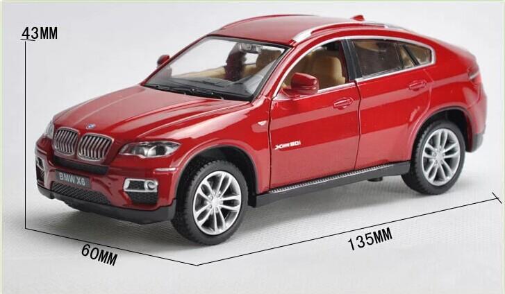 132 Alloy Car Model For BMW X6-24