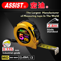 0.14mm 0.16mm custom-design pro-grade stainless steel ABS plastic durable size matters measuring tape