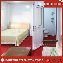 ISO certified low cost prefabricated beach house china