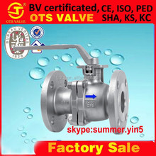 BV-SY-435 Best Price ANSI125 150, JIS10K, PN10, PN16 Iron/Carbon Stel/Stainless Steel Float Ball Valve from factory