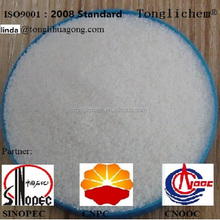 China anionic polyacrylamide/pam manufacturer for texitle wastewater treatment