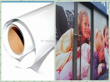pvc white digital printable vinyl sticker roll for outdoor advertising or decoration car body