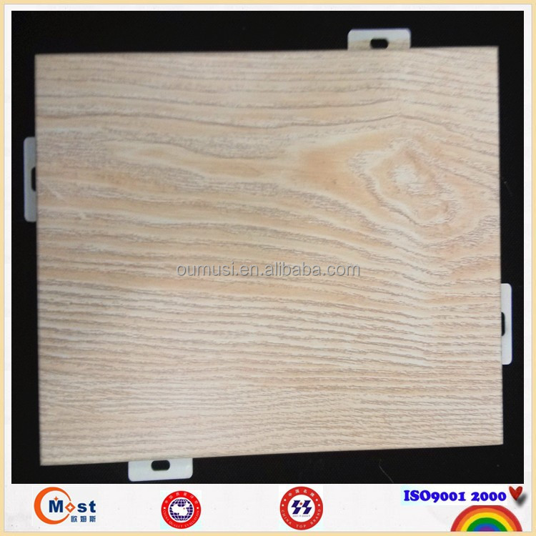 Resistant Fireproof Wall Paneling : Interior wood paneling fireproof metal cladding wall