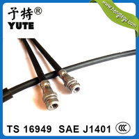 high pressure 1/8 inch j1401 hydraulic brake hose with ts 16949 certified