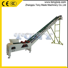 (H) Tony top quality widely used big angle belt conveyor for sale