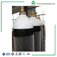 DOT-3AA 50L High Pressure Gas Cylinder with Low Price