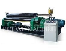 Mechanical 3-roller symmetrical plate rolling machine / metal twisting machine