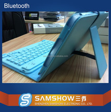 English Amazon Oem Tablet Pc Leather Case Silicone Wireless Bluetooth Stand Keyboard Cover For Ipad Mini