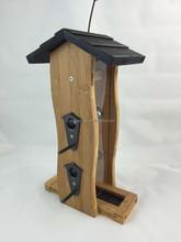 wooden bird nest,decorated wooden bird house