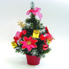 red mini plastic decoration christmas tree