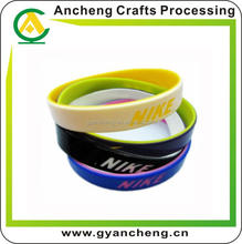 fashional silicone wristband bracelet bangles handcrafts for fashion accessory