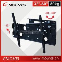Wholesale Price Swivel TV mounts Load Capacity 80kgs wall mounts for tvs