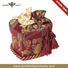 fabric covered american style jewelry box