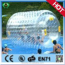 HI Dia 2m PVC/TPU inflatable water roller ,roll inside inflatable ball ,inflatable baby toys roller